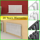 Horizontal Vertical Designer Radiators Bathroom Singe Double Oval Panel 600mm UK
