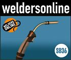 UNI-MIG SB36 Binzel Style Welding Torch Euro Connect (variety of cable lengths)