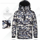 Southplay Mens US Militarylook Waterproof Ski-Snowboard Outwear Hood Jacket