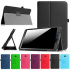 """Premium PU Leather Stand Case Cover For Samsung Galaxy Tab A 7"""" 8"""" 9.7"""" 10.1"""""""
