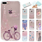 Cute Pattern Soft TPU Ultra Slim Clear Back Case Cover For Apple...