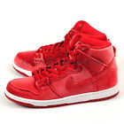 Nike Dunk High Premium SB Gym Red/White Classic Skateboarding Shoes 313171-661