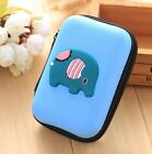 Cartoon Multi Portable Earphone Bag Headphone Coin Purse Case Cable Storage Box