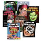 step by step skeleton face paint - American Face Painter Step By Step Face Paint Magazines