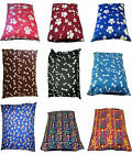 DOG Bed Cushion Covers only~ MEDIUM, LARGE & X-LARGE~ Polycotton WASHABLE Covers