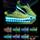 Men Women LED Night Up Shoes Glow in The Dark Shoes Sneakers Flash Lace Up Shoes