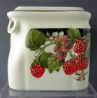 Strawberry Cube Teapot made by Hall China