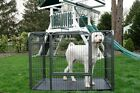Heavy Duty Outdoor Playpen Pet Dog Training Kennel Crate