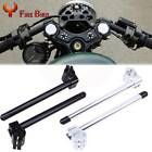 31/32/33/35/37/39/41/50/51mm CNC Clip-ons Handlebars Fork Tube Motorcycle Pair