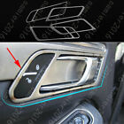 4x Stainless Steel Door Handle Bowl Frame Cover Trim For Prosche Macan 2015-2016