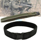 New Men Tactical Military Heavy Duty Belt Emergency Rescue Rigger Waistband Tool