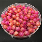 New 4mm 100Pcs Double Colors Glass Round Pearl Loose Beads Jewelry Making #4m62