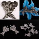 Tibetan Silver Angel Flying Wings Wing Pendant Spacer Beads Charms Metal Finding