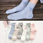 Autumn Winter Cartoon Socks Small Animal Series Cotton Casual Women Warm Socks