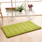 Absorbent Soft Memory Foam Bath Bathroom Bedroom Floor Shower Mat Rug Non-slip B