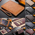 Slim Leather Card Stand Folio Case Cover For iPad 2/3/4/Air 2/mini/iPad Pro