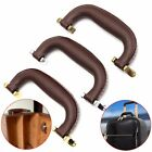 Brown Leather Handle For Guitar Musical Box Luggage Toolbox Trolley Instrument