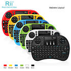 Israel Hebrew Rii Mini I8+ Wireless Multi-touch backlight Keyboard for Laptop