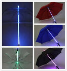 Colorfu LED Light Up Blade Runner Star Wars Transparent Umbrella with Flashlight