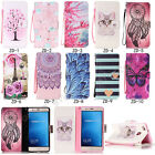 Fashion Flip Printed PU Leder Wallet Stylish Case Cover Wallet For Lot Phone ZD