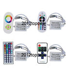 110V/220V IR RF RGB Dimmable Remote Controller For 5630 5050 RGB LED Strip Light