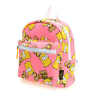 SS02.The Simpsons Bart Simpson Kids Children Girl Backpack Picnic Field Trip