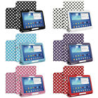 Polka Dot Leather Case Stand Cover For Samsung Galaxy Tab 3 10.1 P5200/P5210