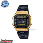 Casio A168 A178WA A159WGA-1/5/9A Digital watch Silver/Gold Tone Stainless Steel  <br/> FAST SHIPPING**100% ORIGINAL **TRACKING PROVIDED**