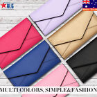 New Fashion Classic Women Envelope Card Wallet Leather Purse Case Cover