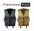 New Rothco Tactical Assault Molle Modular Vest - Black or Coyote Brown - 540