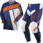 NEW MSR RACING AXXIS NAVY ORANGE WHITE ADULT RACE GEAR COMBO JERSEY PANTS MX