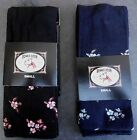 BONNIE DOON~ Damen Night Flowers Tights~ S bis XL ~ 38 bis 46 ~navy oder schwarz