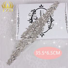 Wedding Dresses Sash Rhinestone Applique DIY Bling Bridal Wedding Crystal Belt