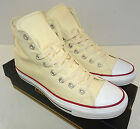 CONVERSE All Star Chuck Taylor Sneaker Hi M9162 Unbleached White Size 3 11 Mens