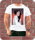 Princess Leia Star Wars Carrie Fisher Men T shirt New Year Gift Starwars Retro £5.99 GBP