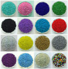 Kyпить NEW DIY 2MM 3MM 4MM Size Glass With silve Seed Spacer beads Jewelry Fitting  на еВаy.соm