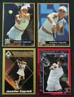 JENNIFER CAPRIATI _ 4 Different Cards _ Choose 1 or More _ MAIL WORLDWIDE