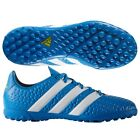 ADIDAS BOYS ACE ASTRO TURF BLUE FOOTBALL TRAINERS ALL SIZES FROM 10 TO 5.5