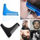 Beard Shaper Shaping Tool Facial Hair Comb Brush For Perfect Lines & Symmetry CN