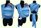 NEW BABY SLING WOVEN 100% COTTON WRAP CARRIER STRIPEY STRIPES SPRING SUMMER