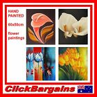 GENUINE HAND PAINTED WALL ART DECOR OIL PAINTING on CANVAS 60x50cm FLOWER NATURE