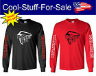 "Atlanta Falcons ""Rise Up"" Football Long Sleeve  Shirt $28.79 USD on eBay"