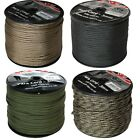 WEB-TEX MILITARY PARA CORD 100m REEL SAND GREEN BLACK ARMY BASHA TENT BIVVI ROPE