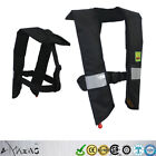 Premium M-33 In-Sight Deluxe Tourament Manual Inflatable Life Jacket Vest PFD