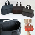 VALPAR TOTE  BAG~ Premium Genuine Leather & Canvas Womens Ha