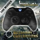 Xbox One/S Clear Black With Blue LED Rapid Fire Paddle Controller BF1-IW-GOW4