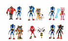 """Tomy Sonic Boom 3"""" Twin Figure Pack - Sonic Shadow Dr Eggman Beebot Tails Sticks"""