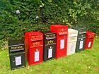 Royal Mail Replica ER White  Red  Black & Green Post Office British Post Box