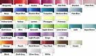 3m - 25mm or 38mm Single Sided Satin Ribbon.40 COLOURS for crafts & rosettes