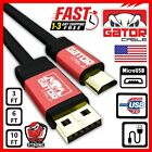 Micro USB Cable Cord Charger Sync Data For Samsung S3 S4 S6 S7 Note 4 5 HTC LG